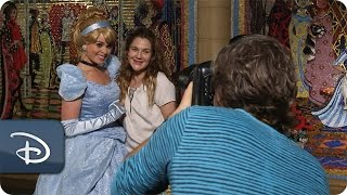 Drew Barrymore Has A Fairytale Visit at Magic...