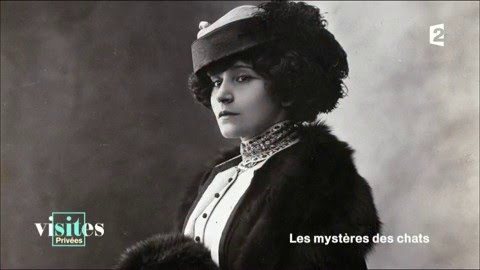 Colette, 'La Chatte' - Magazine cover