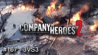 Company Of Heroes 2 (FRANCE) #167 Multijoueurs 2VS2 en ligne
