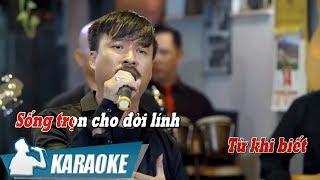 [KARAOKE] Sau Những Lần Gối Mỏi - Quang Lập