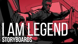 Design Cinema - I Am Legend Storyboards
