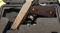 Sig Sauer Ultra Compact 1911 Shooting Review