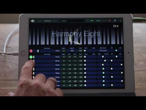 Harmony Eight - Pitch shifting delay for iPad and iPhone