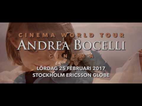 Andrea Bocelli - Ericsson Globe Stockholm 25/2 2017
