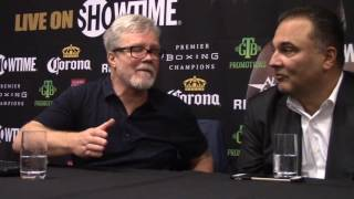 FREDDIE ROACH : MY GUY [CUELLAR] PUNCHES HARDER, IS BIGGER AND STRONGER!
