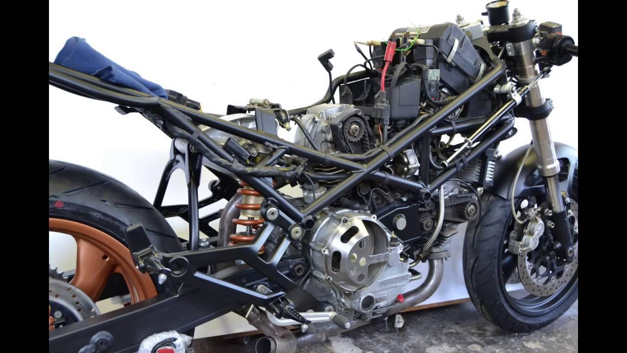 Special Ducati Monster 900 Valvoloni Cafe Racer Ilmonster Com