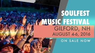 SoulFest 2016 - Skillet, Switchfoot, Michael W Smith, Matthew West, P.O.D. and many more!