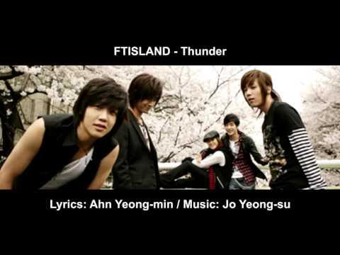 FTISLAND - Thunder [English subs + Romanization + Hangul]