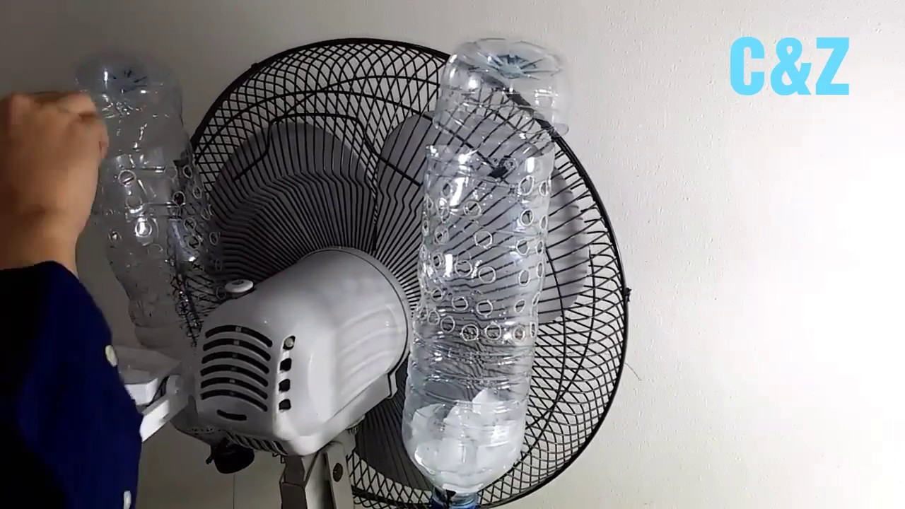 DIY AIR COOLER EASY HOME MADE USING FAN