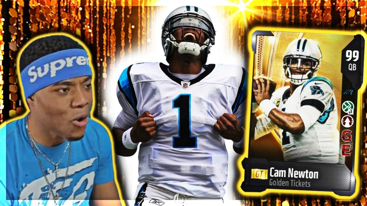 GOLDEN TICKET CAM NEWTON AND BRIAN DAWKINS! | God Squad #63 | Madden 18 Ultimate Team