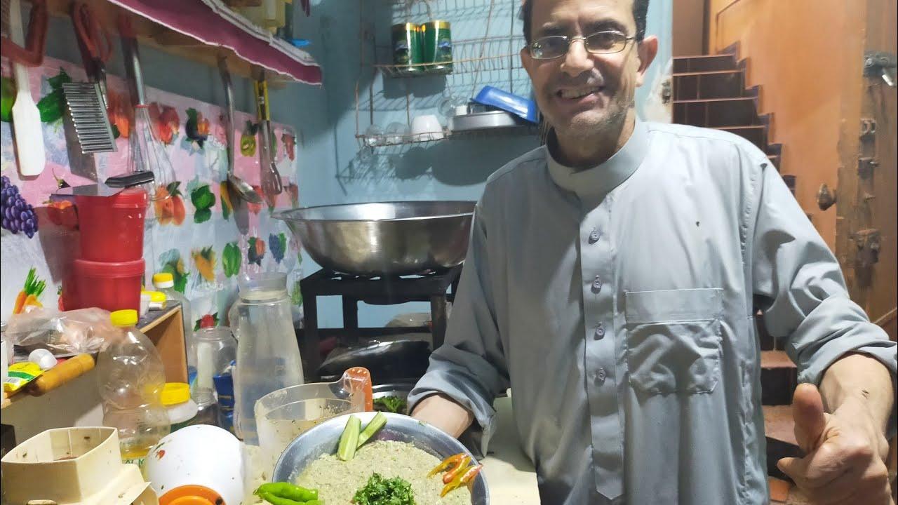 بابا غنوج جنب اللحمة يكسب💪👊