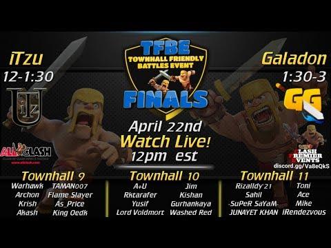 Clash of Clans - Town Hall Friendly Battle TOURNAMENT!