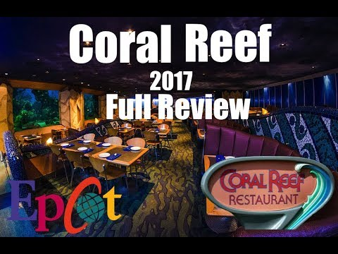 Coral Reef Restaurant Epcot Disney World August 2017 Full Review