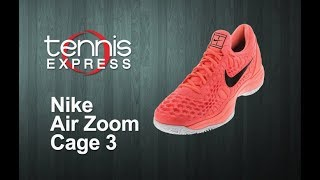 Nike 2018 Air Zoom Cage 3 Tennis Shoes | Tennis Express