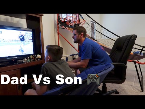 MLB The Show Battle : Dad Vs Son