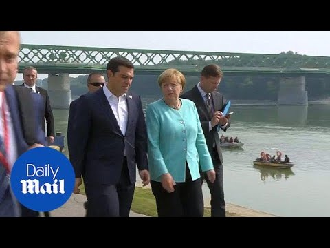 EU leaders look to life after Brexit on boat cruise down Danube - Daily Mail