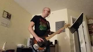 The Eagles- hotel California (bass cover) Video
