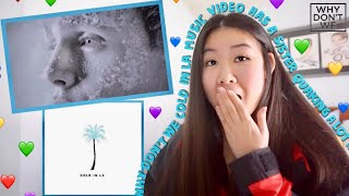 Why Don't We - Cold in LA (Official Music Video) *REACTION*