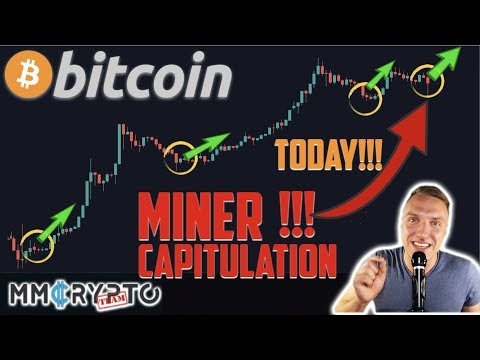 WTFFF!!! BITCOIN MINER CAPITUALTION TODAY!!! HERE IS WHAT HAPPENS NEXT!!!!