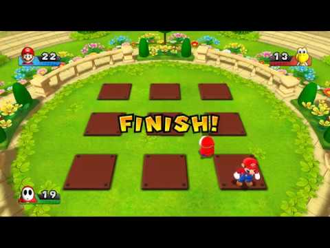 Super Mario Party 9 - Bob Omb Factory Selects Map #1