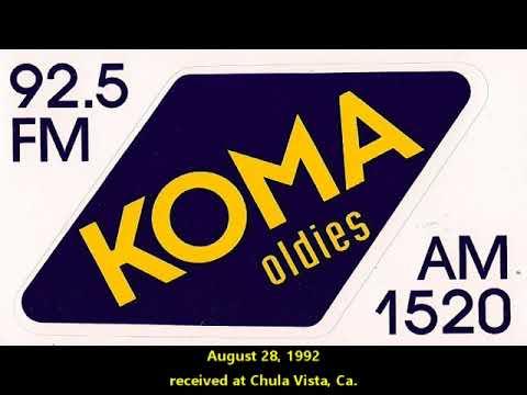 KOMA 1520 Oklahoma City - received in OK, AZ and CA 1990s