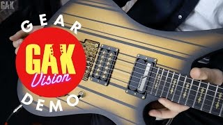 GAK TONE TEST  Schecter Synyster Gates Custom S