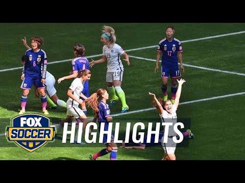 USA vs Japan First Half Highlights  FIFA Women's World Cup 2015 Highlights