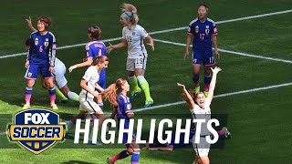 USA vs Japan First Half Highlights - FIFA Women