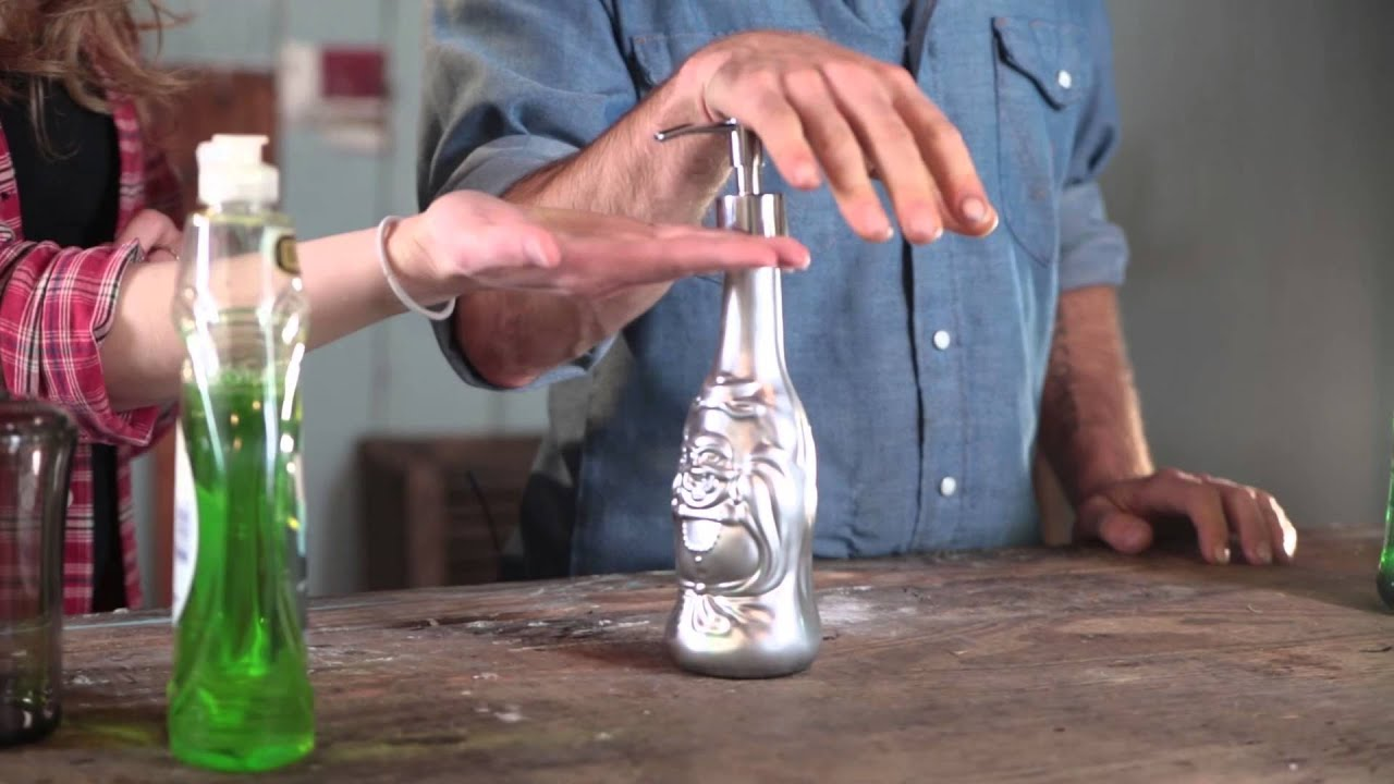 How To Make A Beer Bottle Soap Dispenser