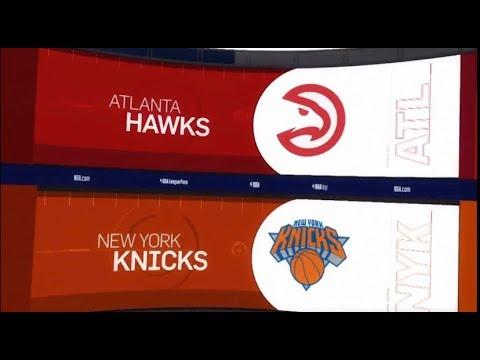 Atlanta Hawks vs New York Knicks Game Recap | 12/21/18 | NBA