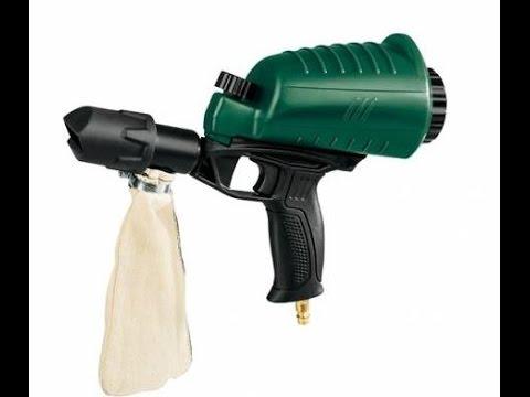 Pistolet de sablage parkside pdsp 1000 test besoin de doovi - Pistolet peinture lidl ...