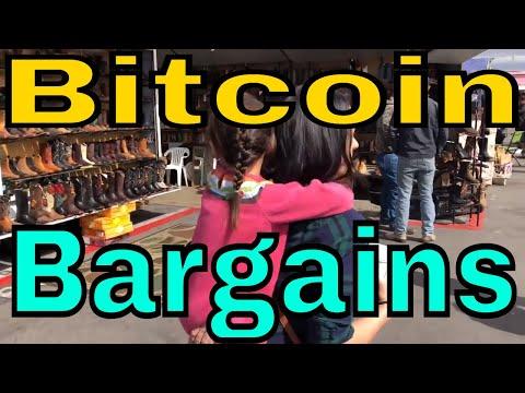 Crypto Family - Bitcoin at the Swap Meet?!?