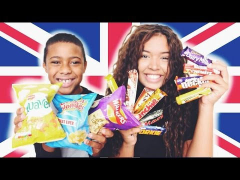 Americans Trying British Candy
