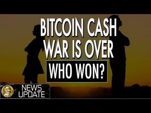 Bitcoin Cash Vs. Satoshi Vision - Hash War Over - Crypto Market Price Suffers