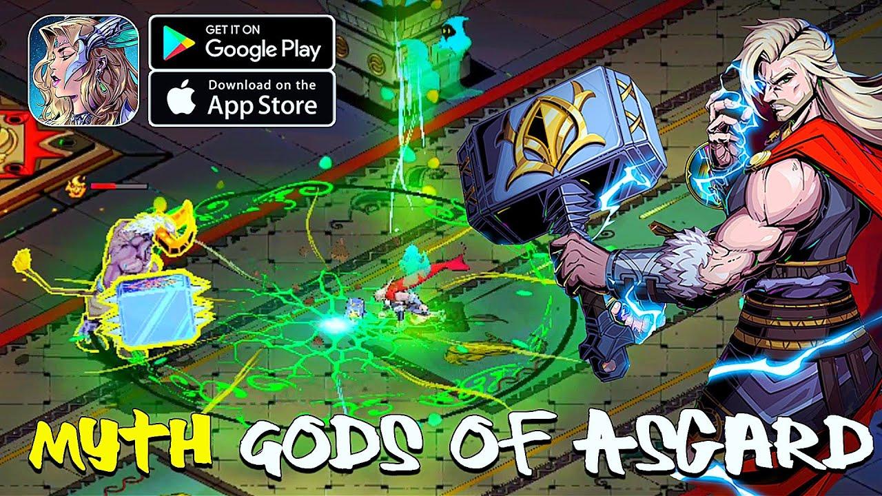 Myth: Gods of Asgard - Beta Gameplay (Android/IOS) - YouTube