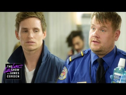 'tastic Beasts' of the TSA w Eddie Redmayne