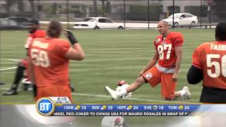 The BT Football Friday title:  BT Football Friday/BC Lions Wide Receiver Marco Iannuzzi