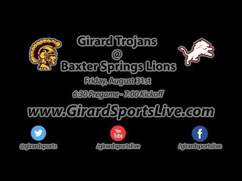 Girard Trojans @ Baxter Springs Lions