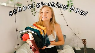back to school TRY-ON CLOTHING HAUL 2018!