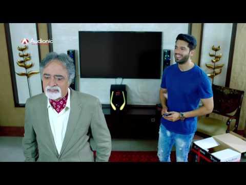 Fahad Mustafa in Audionic TVC - Home Theater (Hila Key Rakh Dey)