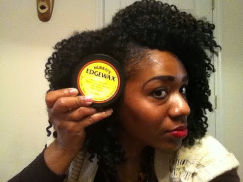 Crochet Hair Edges : Murrays Edge Control Review + Update on Crochet Braids - YouTube