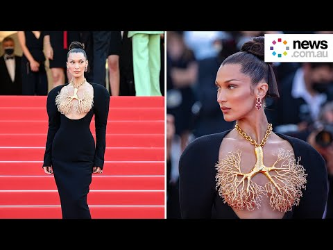 Bella Hadid's jaw-dropping Cannes outfit