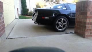 1990 corvette idle and 6k rev