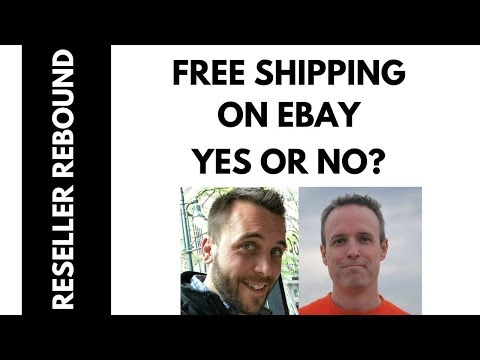 Should you offer Free Shipping on eBay? Yes or No? |  Reseller Rebound | Episode #2