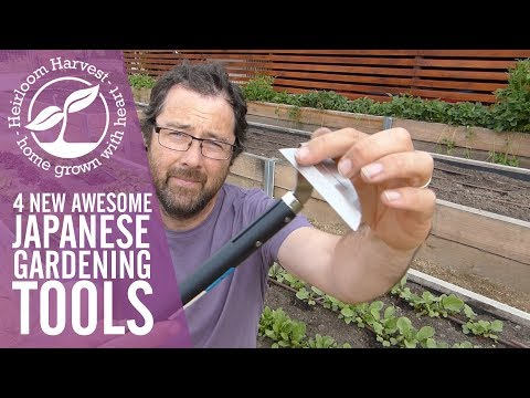 Four New Awesome Japanese Gardening Tools!