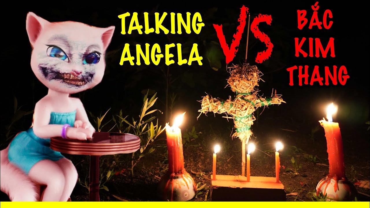 Phim Ngắn: Lừa Talking Angela Hát Bắc Kim Thang lúc 12H Khuya và Lời Thách Thức Tất Cả Youtuber VN