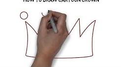 How To Draw Cartoon Crown
