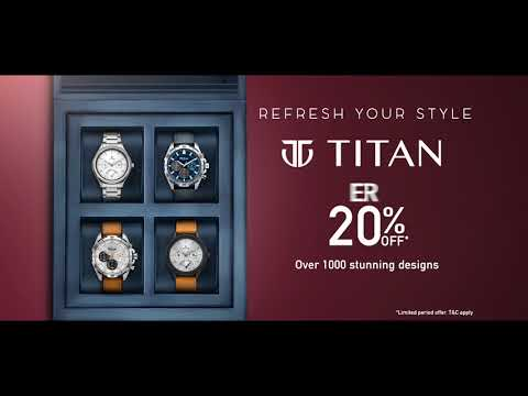 Titan Exchange Offer - #RefreshYourStyle (English)