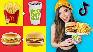 "Testing ""Top Secret"" McDonald's TikTok Hacks"