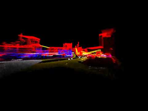 LiDAR of a coal power plant